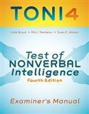 TONI-4 Examiner's Manual   Special Education