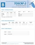 TOSCRF-2: Student Record Forms B (25) | Special Education