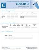 TOSCRF-2: Student Record Forms C (25) | Special Education