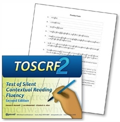 Test of Silent Contextual Reading Fluency Second Edition | Special Education