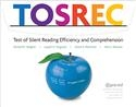 TOSREC Grade 2: Test of Silent Reading Efficiency and Comprehension | Special Education