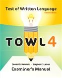 TOWL-4 Examiner's Manual | Special Education