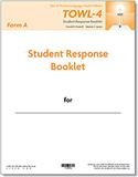 TOWL-4 Student Response Booklets, Form A (25) | Special Education