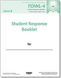TOWL-4 Student Response Booklets, Form B (25) | Special Education
