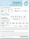 TOWRE-2 Form A Examiner Record Booklets (25) | Special Education