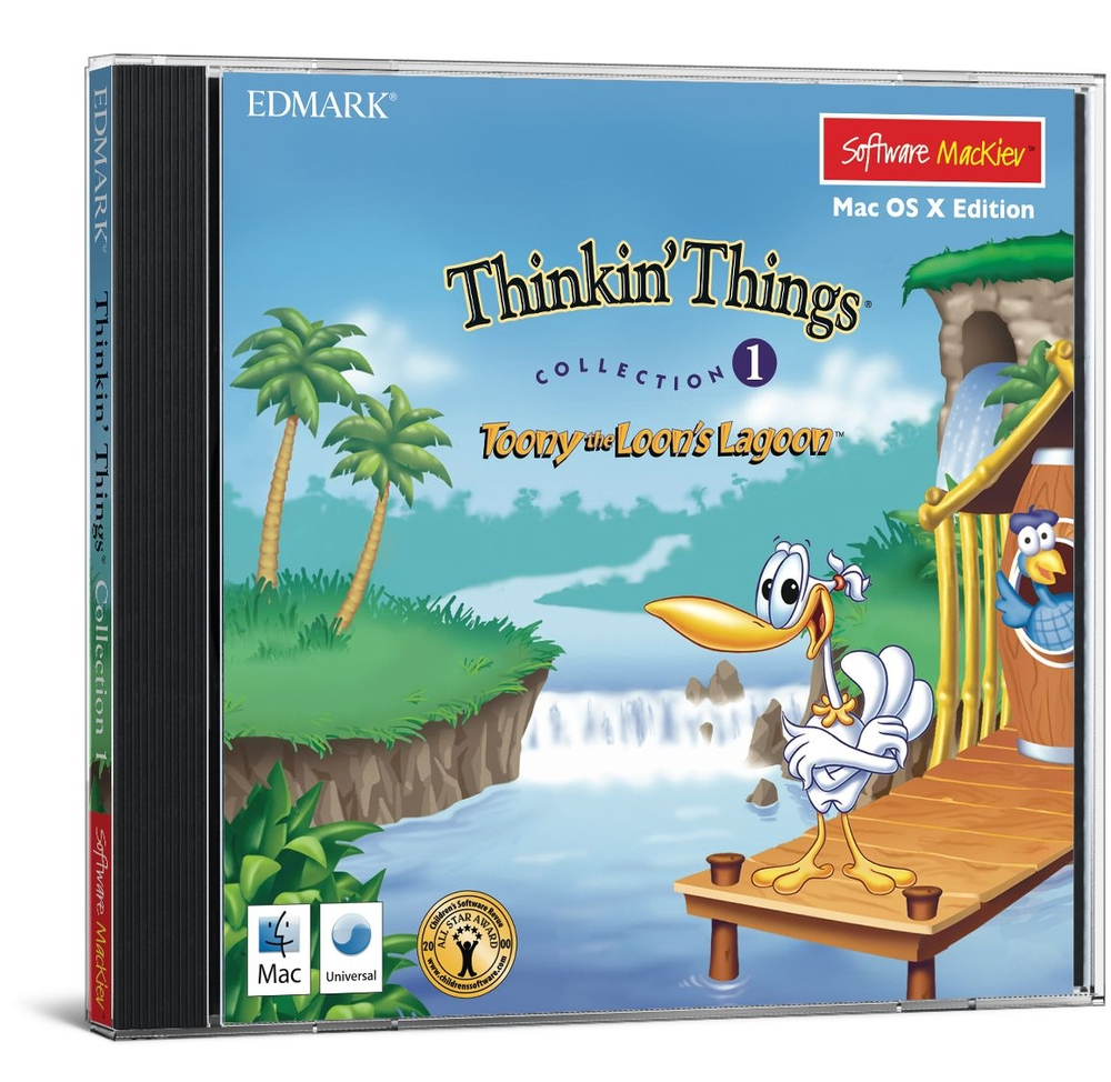 Edmark Thinkin' Things Collection 1 - Mac OSX | Early Learning
