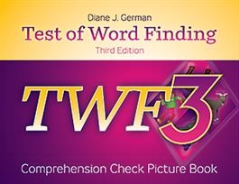 TWF-3 Comprehension Check Picture Book | Special Education