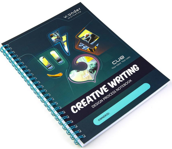 New! Cue Applied Robotics Curriculum Unit 1: Creative Writing - Student Notebook | Wonder Workshop