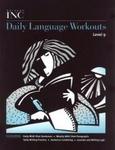 Image Great Source Writer's Inc. Daily Language Workout Grade 9