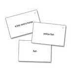 Image Edmark Reading Program: Level 1 Second Edition Phrase Match Cards