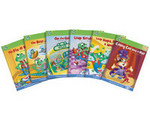 Image Leapfrog - Tag Learn to Read Phonics Book Set 1 Short Vowels