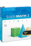 Image Saxon Math 3 Teacher Edition eTextbook ePub 1-year 2012