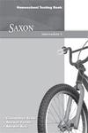 Image Saxon Math Intermediate 3 Testing Book homeschool