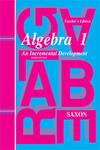 Image Saxon Math Algebra 1 6 Year Online Student/Teacher's Edition with Destination Ma