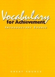 Image Great Source Vocabualry for Achievement Workbook Grade 6