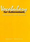 Image Great Source Vocabualry for Achievement Workbook Grade 6