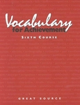 Image Steck-Vaughn Vocabulary for Achievement Student Edition, Sixth Course