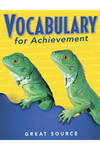 Image Vocabulary for Achievement Teacher's Edition Grade 3