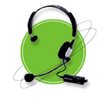 Image ANC-700 Monaural Headset