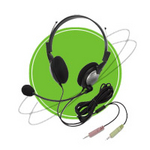 Image NC-185 Anti-Noise PC Noise Canceling Headphone