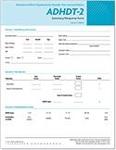 Image ADHDT-2 Summary/Response Form (50)