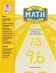 Image Basic Math Practice: Fractions, Decimals, and Percents