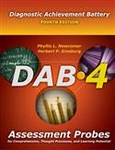 Image Add To Cart $52.00 DAB-4 Assessment Probes for Comprehension, Thought Processes,