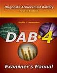 Image DAB-4 Examiner's Manual