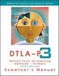 Image Detroit Tests of Learning Aptitude-Primary: Third Edition (DTLA-P:3) Complete Ki