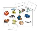 Image Edmark Reading Program: Level 1-Second Edition, Phrase Mat