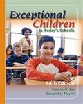 Image Exceptional Children in Today's Schools-Fifth Edition