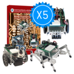 Image Boe-Bot Engineering Kit 5 Pack Bundle