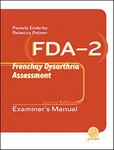 Image FDA-2: Frenchay Dysarthria Assessment Second Edition