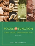 Image Focus on Function: Gaining Essential Communication Skills-Second Edition