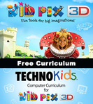 FREE Actvities & Projects with KID PIX 3D