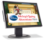 Image Mickey's Typing Adventure Web