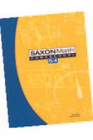 Image Saxon Math 5/4 Homeschool Set/Box