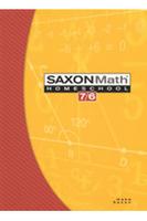 Image Saxon Math 7/6 Homeschool Set/Box