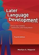 Image LATER LANGUAGE DEVELOPMENT SCHOOL AGE CHILD,4E