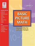 Image BASIC PICTURE MATH PRINT BOOK 1