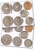 Image TOUCHMONEY BIG COIN SET (6 SHT=42 COINS)