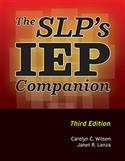 Image SLP'S IEP COMPANION, 3E