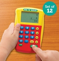 Image See N Solve Visual Calculator Class Pack 12 units