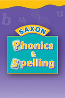 Image Saxon Phonics & Spelling K 32 Student Worksheets, Box 2