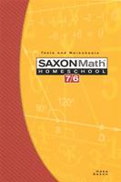 Image Saxon Math 7/6 Homeschool Testing Book 4th Edition