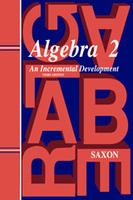 Image Saxon Algebra 2 Homeschool Kit Third Edition