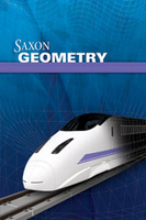 Image Saxon Homeschool Geometry Kit with Solutions Manual 1st Edition