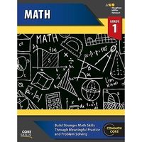 Image Steck-Vaughn Core Skills Mathematics Workbook Grade 1