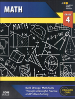 Image Steck-Vaughn Core Skills Mathematics Workbook Grade 4