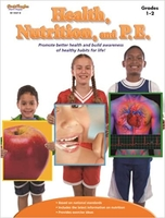 Image Health, Nutrition, and P.E. Reproducible Grades 1-2